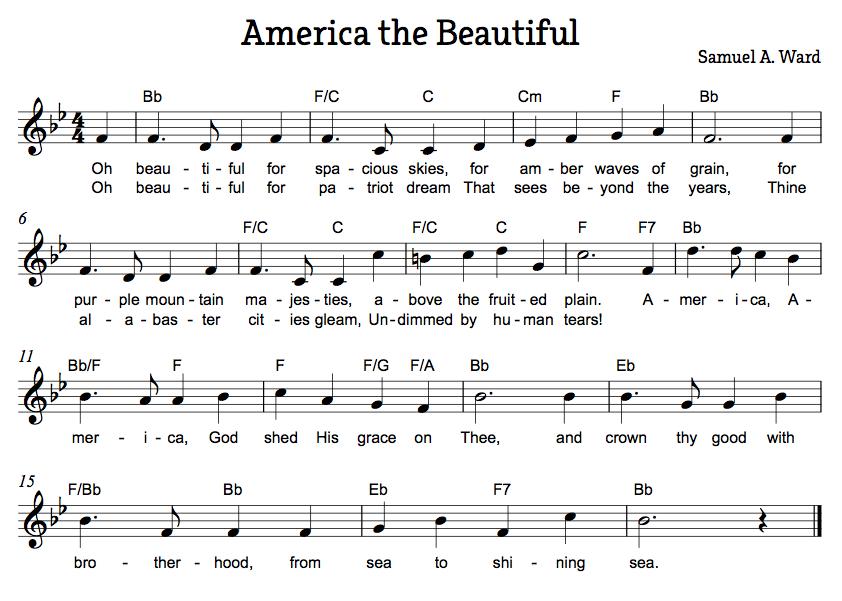 American Folk Songs Beth S Notes