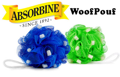 Image of Absorbine WoofPouf Since 1892 Bath Pouf for Dogs