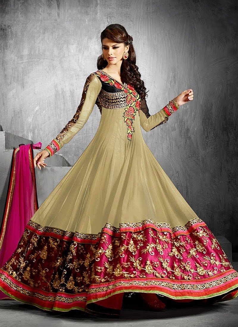 New Arrival Heavy Work Floor Length Anarkali Suit