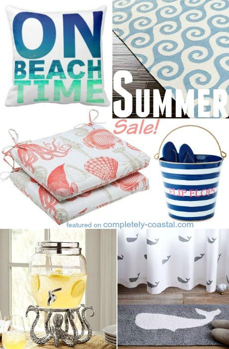 Coastal Summer Sales 4th of July