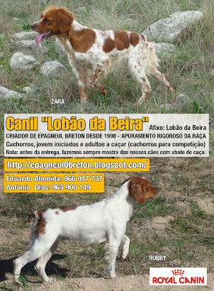 ANUNCIO NA REVISTA CAÇA e CÃES DE CAÇA  MARÇO 2011