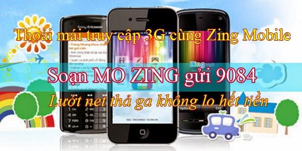 Gói cước Zing của Mobifone