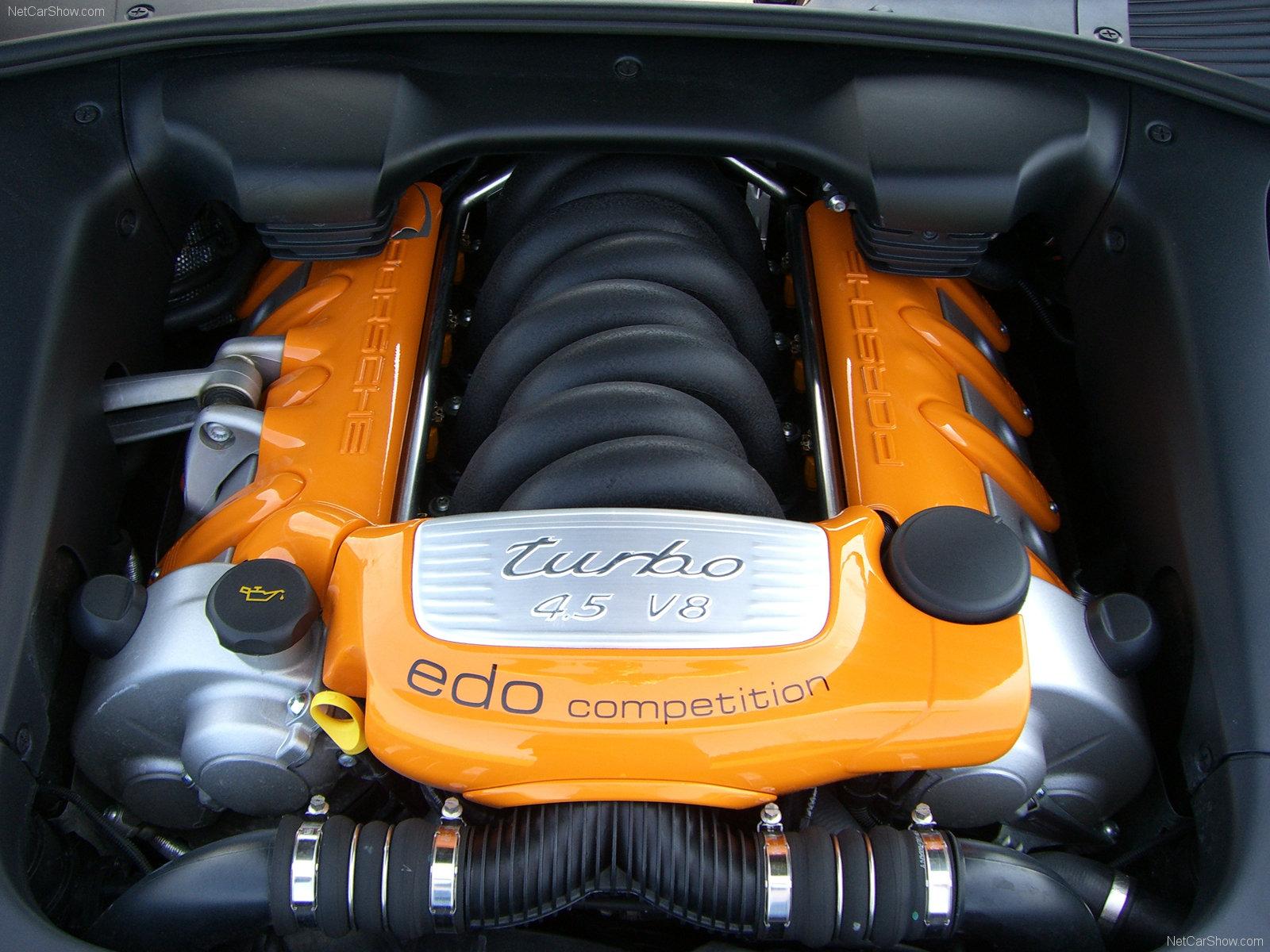 Hình ảnh siêu xe Edo Porsche Cayenne Turbo 2005 & nội ngoại thất