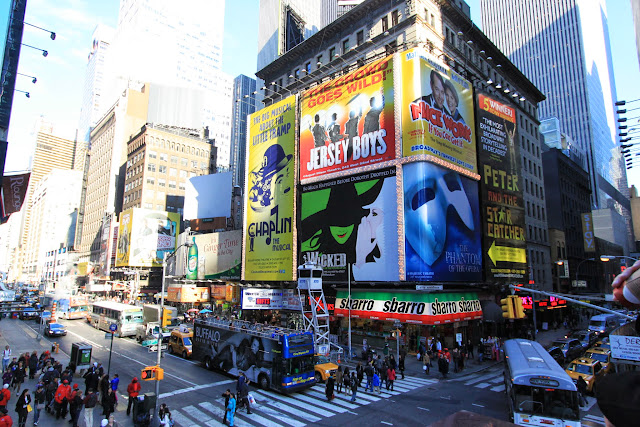 Variety of Musical Broadway shows in New York City, USA
