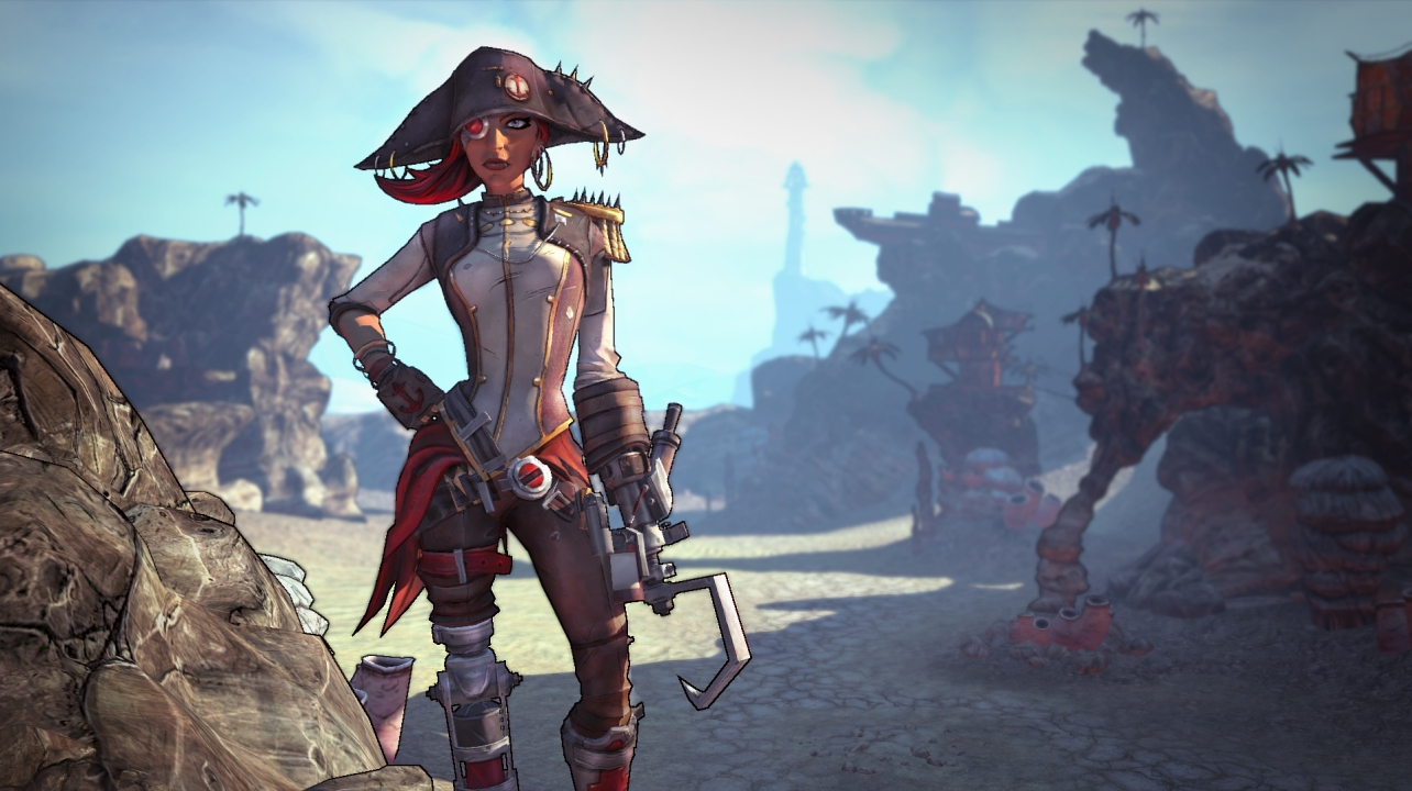 Borderlands 2 Captain Scarlett And Her Pirates Booty DLC