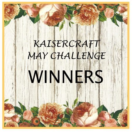 Kaisercraft May 2016 Challenge Winner