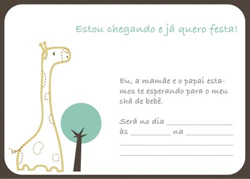 Convites para chá de bebê de menino 9