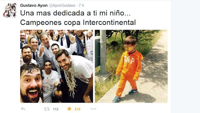 Gustavo Ayón en www.twitter.com