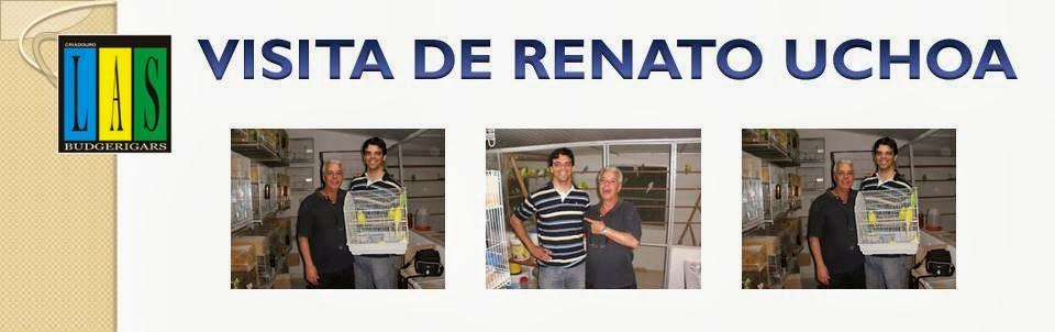 VISITA DE RENATO UCHOA AO CRIADOURO LAS