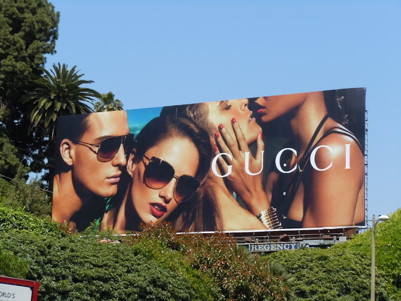 Gucci sunglasses 2011 billboard