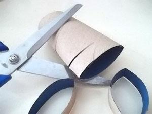 reciclagem de rolo de papel higiênico