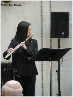 Jennie Brown-Picosa-Chamber Mondays Concert Series - Chicago Cultural Center - Photo by Tom Bowser