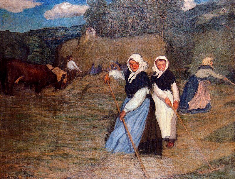 El blog de delsa nicanor pi ole evaristo valle pintores - Pintores en gijon ...
