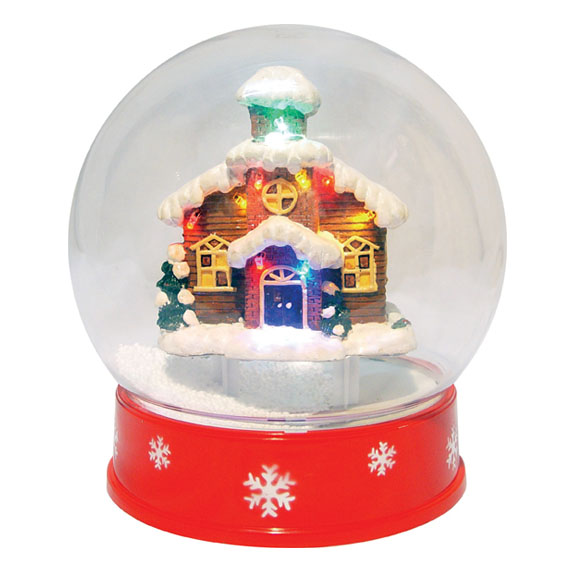 casa palla di neve