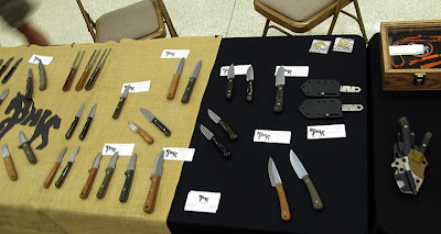 Wide range of knives from Blind Horse Knives