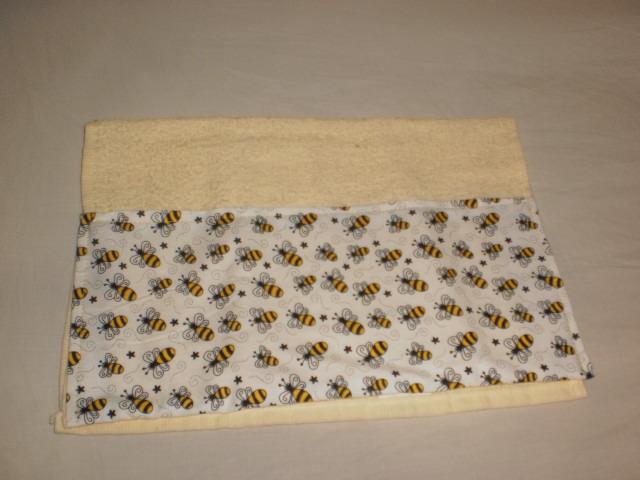 Barrado toalha de rosto