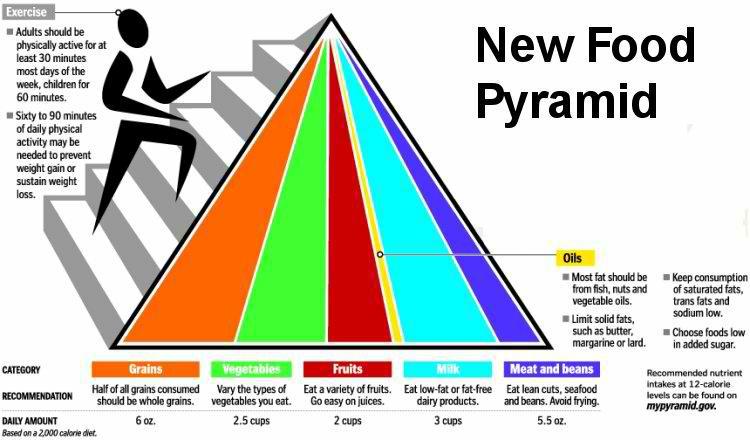 2012 Food Pyramid