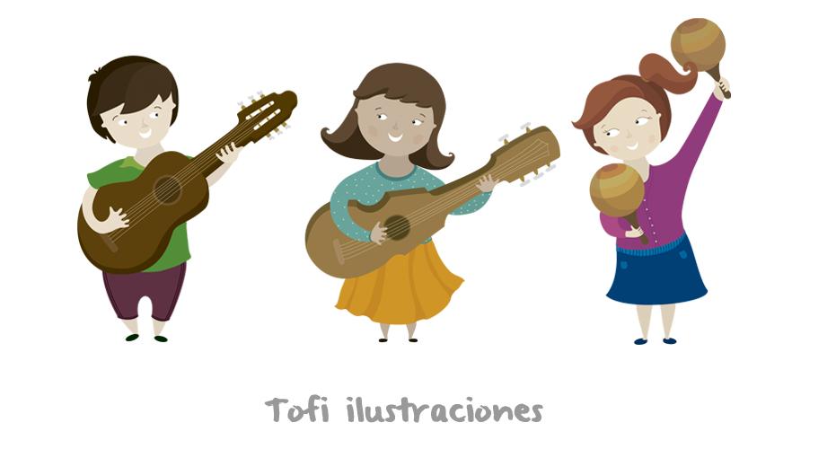 Tofi ilustraciones