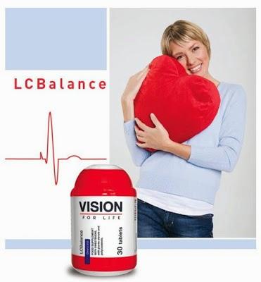 Thực phẩm chức năng LCBalance Vision kiểm soát Cholesterol