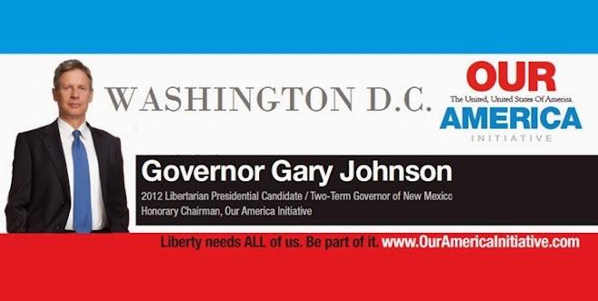 Gary Johnson speaks at CPAC