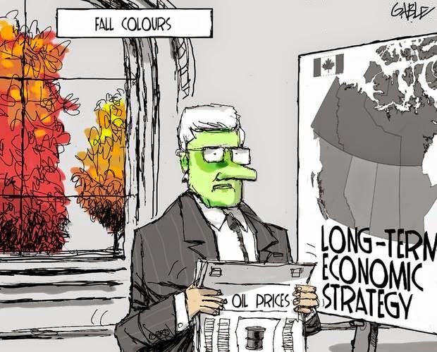 Brian Gable: Stephen Harper facces his doom.
