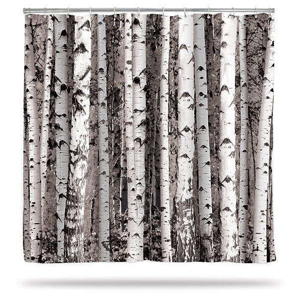 Cortinas De Baño Geek:Cortinas de baño como si fuera un bosque de bambú