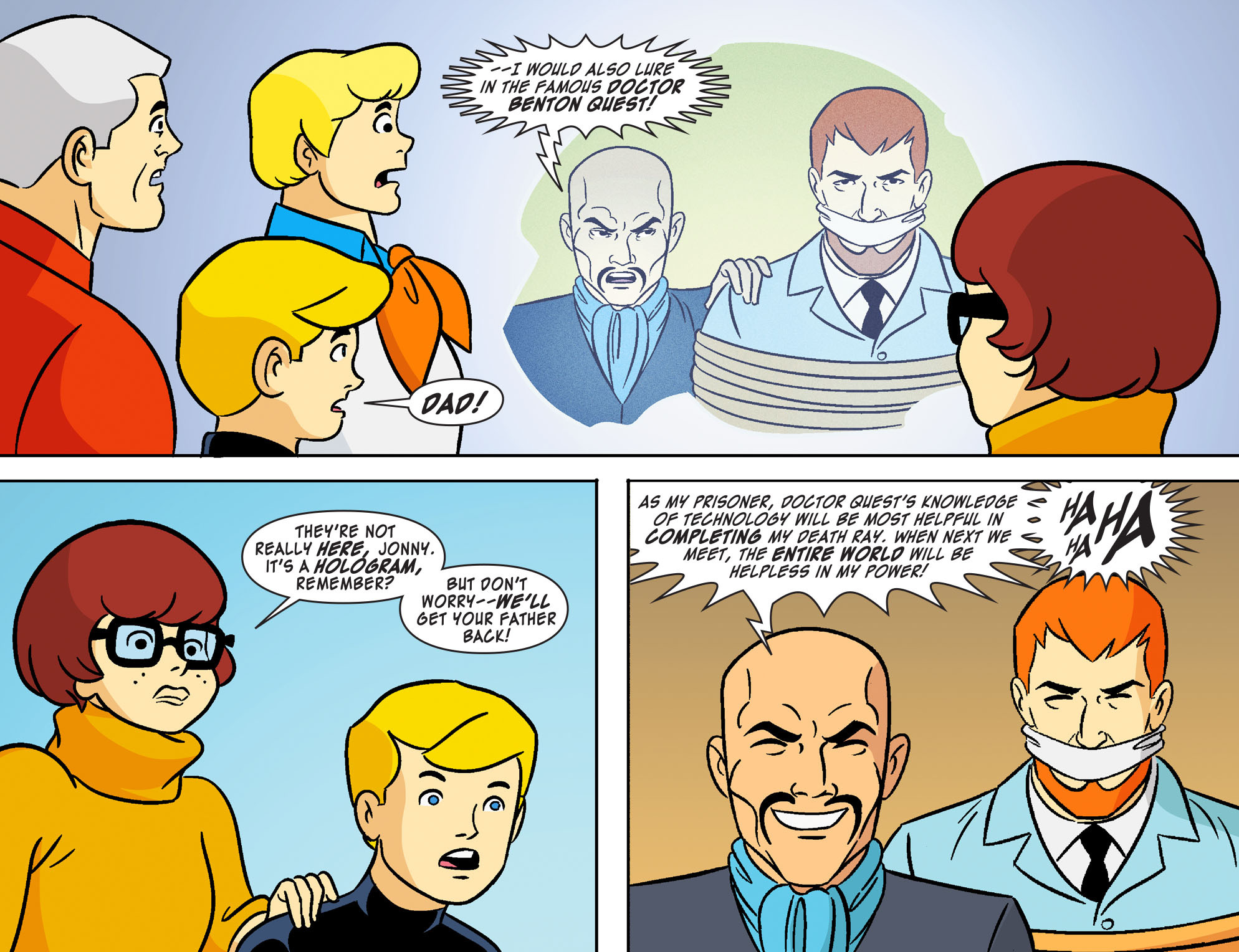 Read online Scooby-Doo! Team-Up comic -  Issue #19 - 19