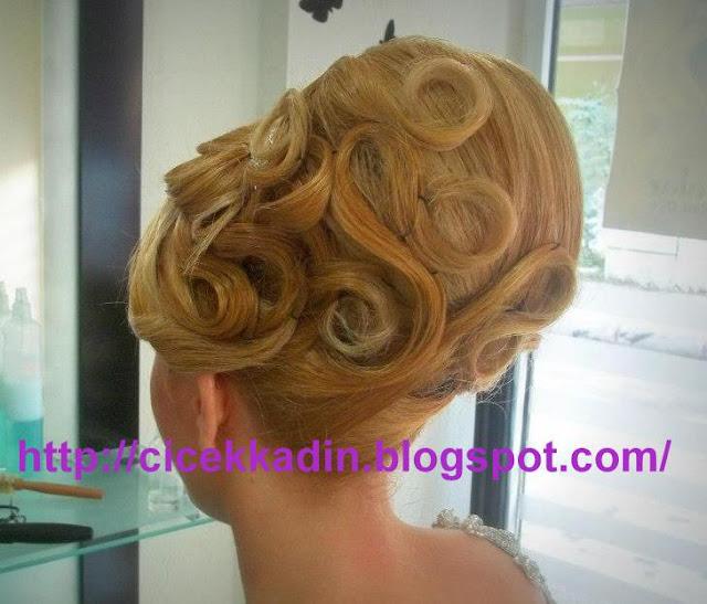 416807 557900570902082 88026432 n Düğün Saçları, Gelin Saçları