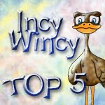 Top 5 @ Incy Wincy Designs