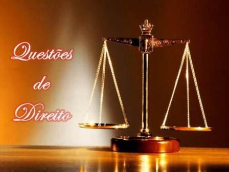 As Questões de Direito