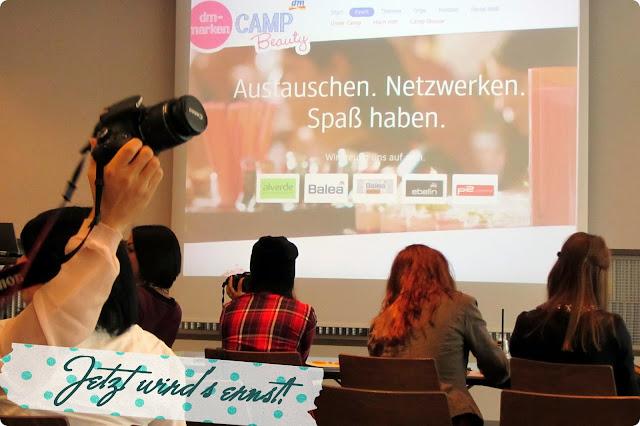 dm-Marken Camp Beauty Barcamp 2013 - Einführung