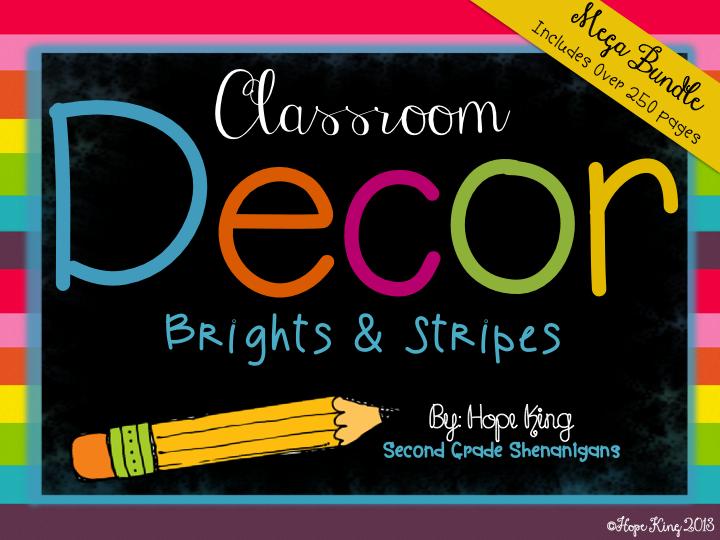 Classroom Decor Bundles : Elementary shenanigans classroom decor mega bundle