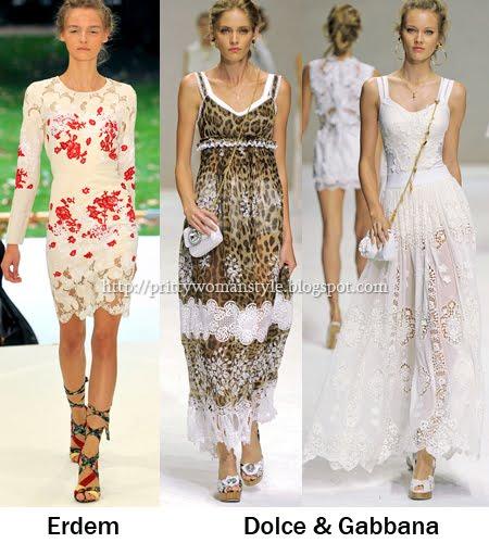 дантелени летни рокли