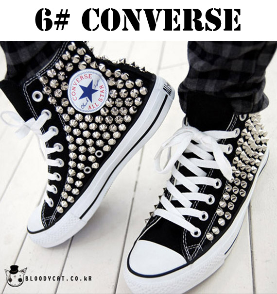 studded converse