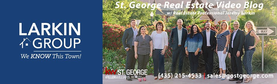 St. George Utah Real Estate Video Blog with Jeremy Larkin
