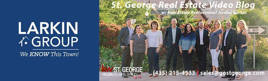 St. George Utah Real Estate Video Blog with Jeremy Larkin