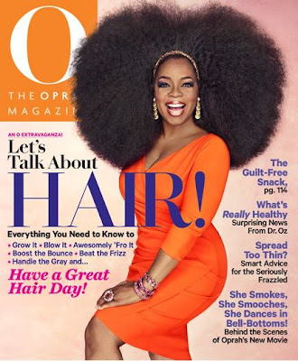 Oprah Magazine Issue About Hair