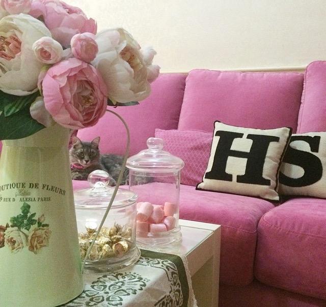 Pink Vintage Home