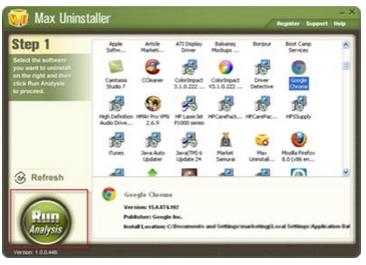 Max Uninstaller v3.6.1 Build 1568