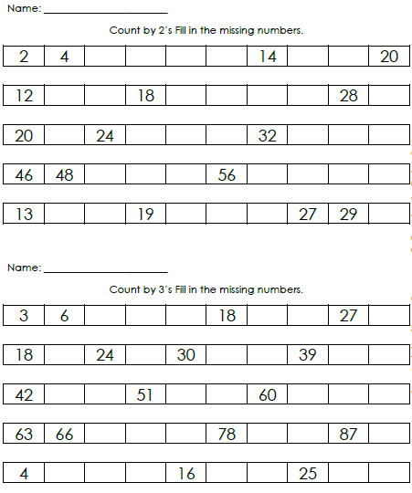 Here is a sample of a worksheets: