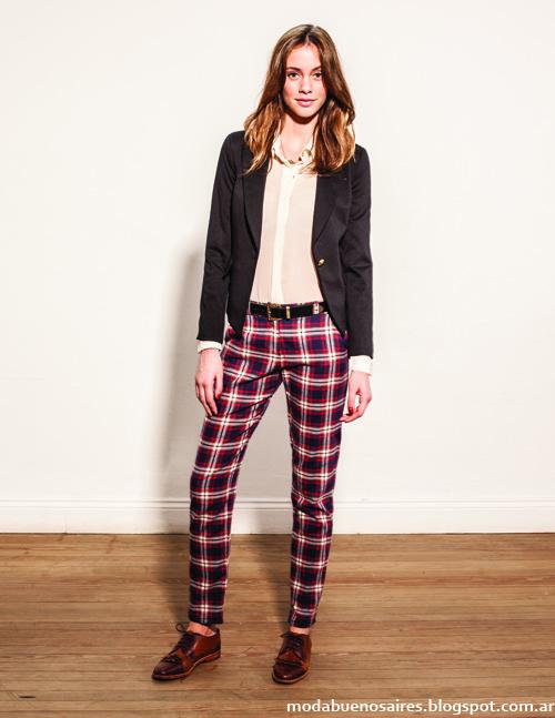 Otoño invierno 2014 moda colección Cuesta Blanca otoño invierno 2014.