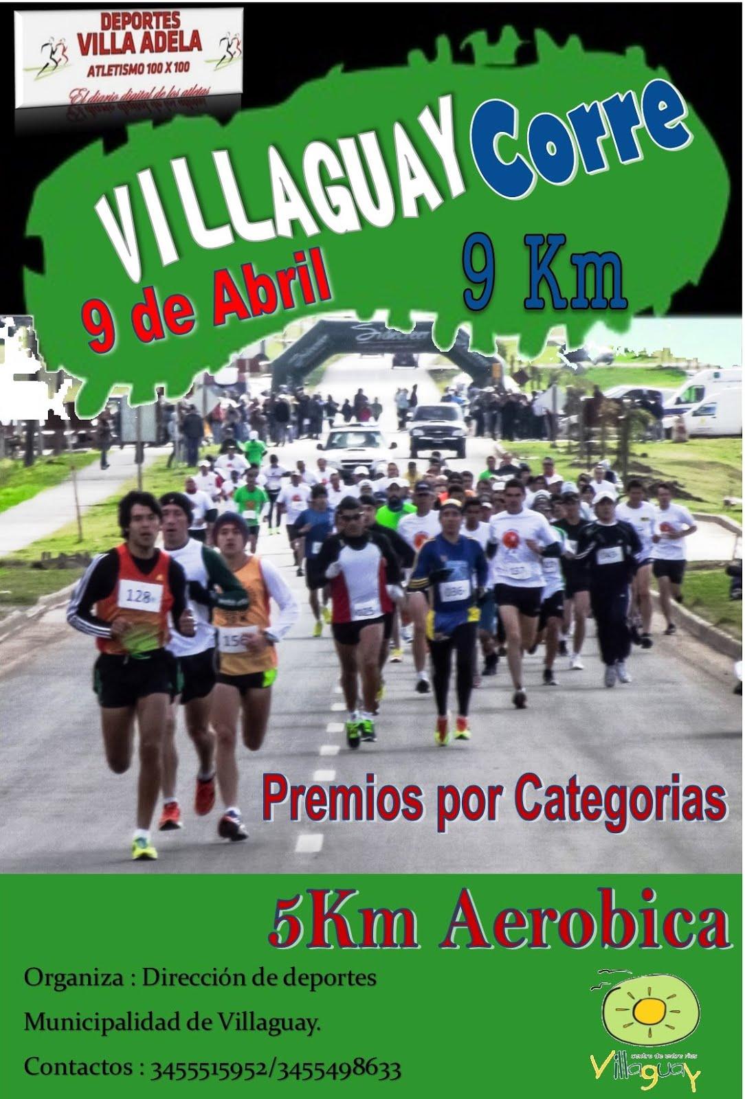 Maraton 9km Villaguay Corre