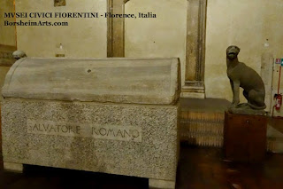 Santo Spirito refectory Salvatore Romano museum Florence Italy tomb