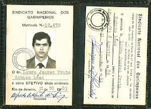CARTEIRA DE FILIAÇÃO DO SINDICATO NACIONAL DOS GARIMPEIROS