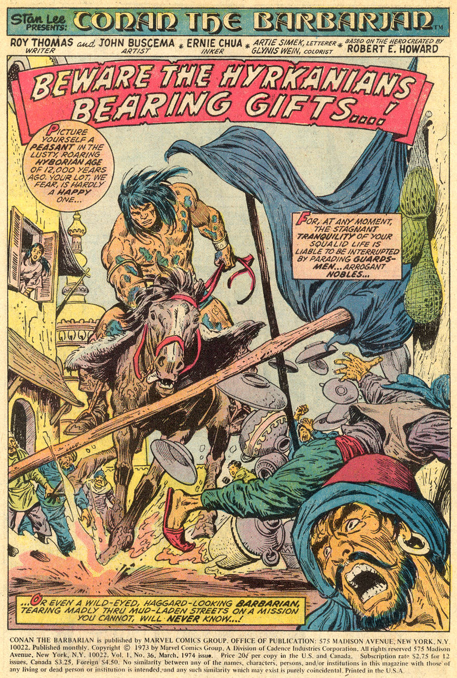 Conan the Barbarian (1970) Issue #36 #48 - English 2