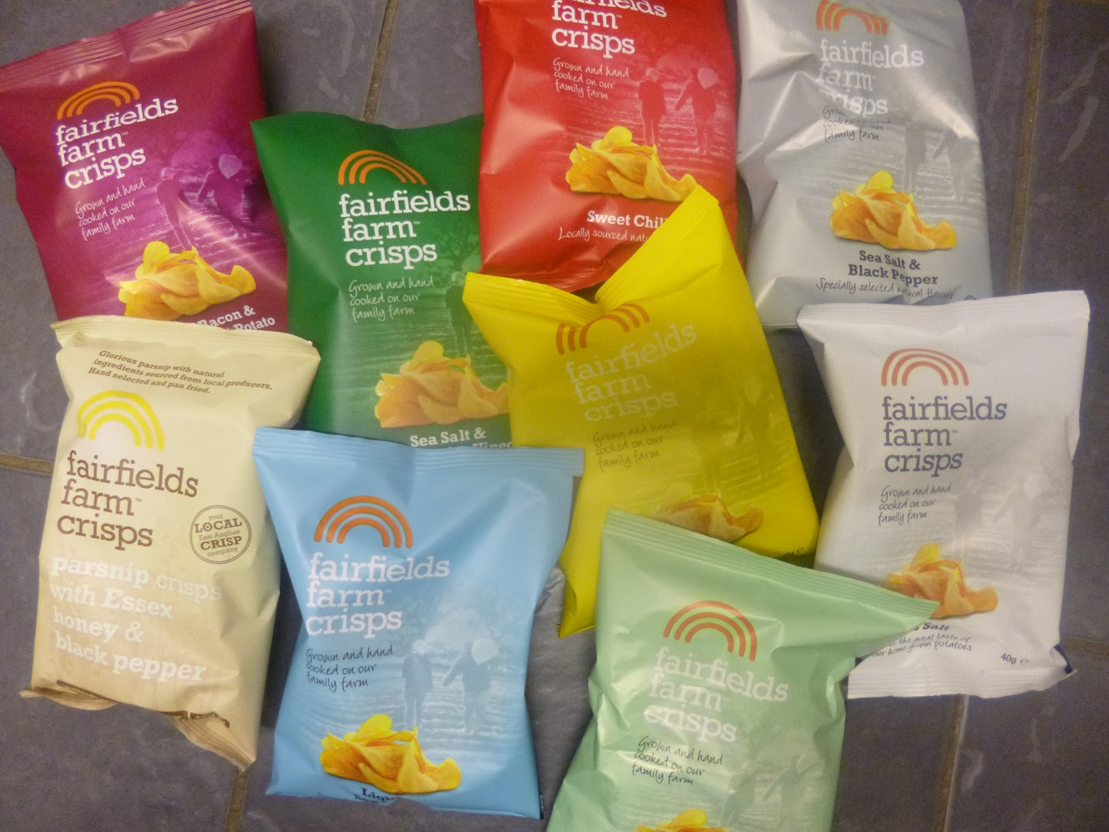 Adventures Of A Yorkshire Mum: Fairfields Farm Crisps