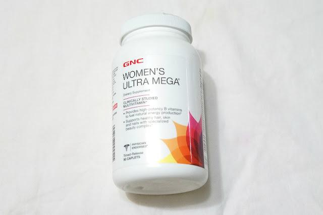 GNC Women's Ultra Mega Multi Vitamin