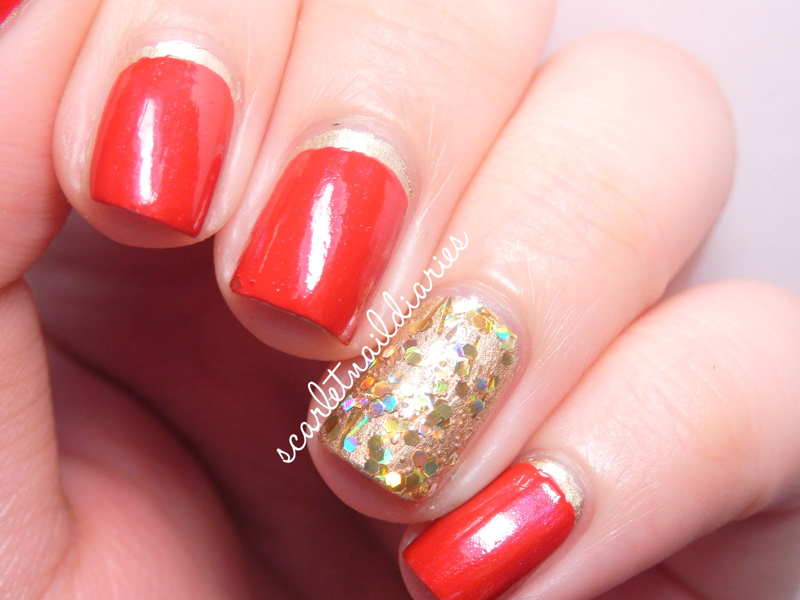 The Scarlet Nail Diaries: Chinese New Year Nails!