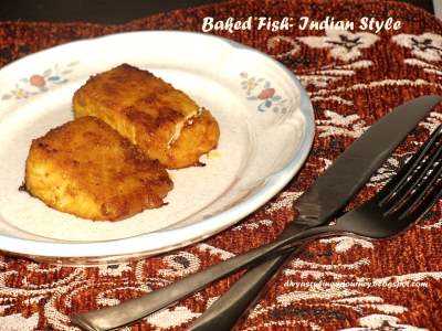 Divyas culinary journey baked fish indian style baked fish indian style forumfinder Gallery