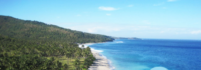 Ilustrasi Pantai Senggigi, Keindahan Wisata Yang Menawan - Travelwan
